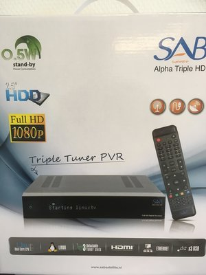 SAB Alpha Triple HD